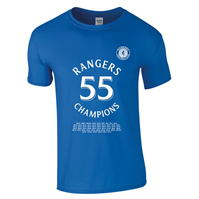 Tricou Team Rangers 55 Champions pentru Barbat albastru