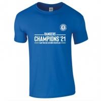 Tricou Team Rangers Champions pentru Barbat albastru