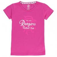 Tricou Team Rangers Crest Print pentru fetite