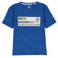 Tricou Team Rangers imprimeu Graphic pentru Copil albastru roial