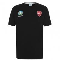 Tricou UEFA Austria Core pentru Barbat negru