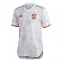 adidas Spania Away Authentic Shirt 2020 alb