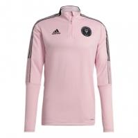 Tricouri antrenament adidas Inter Miami 2021 pentru Barbat true roz negru