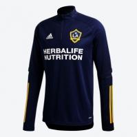 Tricouri antrenament adidas LA Galaxy 2020 pentru Barbat bleumarin