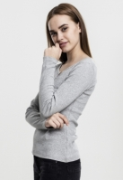 Bluza cu buzunar pentru Dama LS Tee Urban Classics
