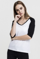 Bluza contrast 34 pentru Dama Urban Classics