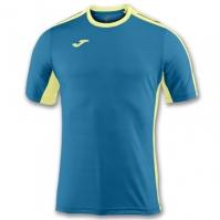 Tricouri Joma T- Granada bleumarin-galben cu maneca scurta