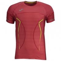 Tricouri Joma T- Olimpia III rosu cu maneca scurta