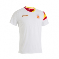 Tricouri Joma T- Podium Coe alb cu maneca scurta