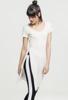 Tricou lung din vascoza cu crapatura laterala pentru Dama Urban Classics