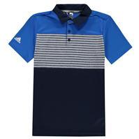Tricouri Polo adidas cu dungi Performance pentru baietei