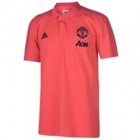 Tricouri Polo adidas Manchester United 2018 2019 pentru Barbat
