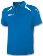 Tricouri polo Joma Champion II Royal-alb