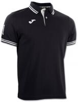 Tricouri polo Joma Combi negru cu maneca scurta