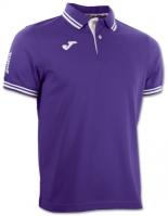 Tricouri polo Joma Combi Purple cu maneca scurta mov
