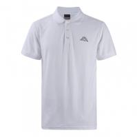 Tricouri Polo Kappa Basic pentru Barbat alb