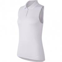 Tricouri polo pentru golf Nike Dri-FIT Victory fara maneci pentru Dama