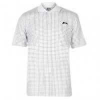 Tricouri polo pentru golf Slazenger Check pentru Barbat