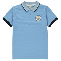 Tricouri Polo Source Lab Manchester City FC pentru baietei