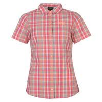 Jack Wolfskin Hot Fairfo cu maneca scurta Shirt pentru Dama roz