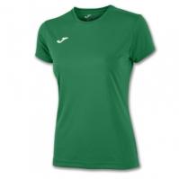 Tricouri sport Joma T- Combi verde cu maneca scurta
