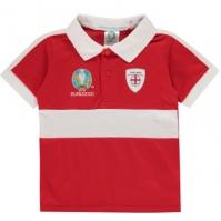 Tricouri Polo UEFA Anglia pentru Bebelusi rosu