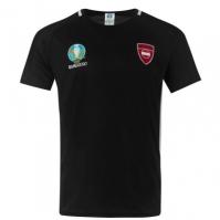 Tricou UEFA Euro 2020 Austria Poly negru