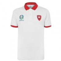 Tricouri Polo UEFA Polonia pentru Barbat alb