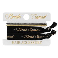 Set accesorii par Uncut Fancy Bridal alb negru
