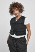 Vest scurta Tactical pentru Dama negru Urban Classics