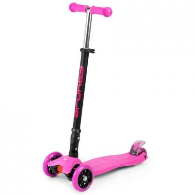 Scooter trojko?owa Spokey Pliers pink 927098