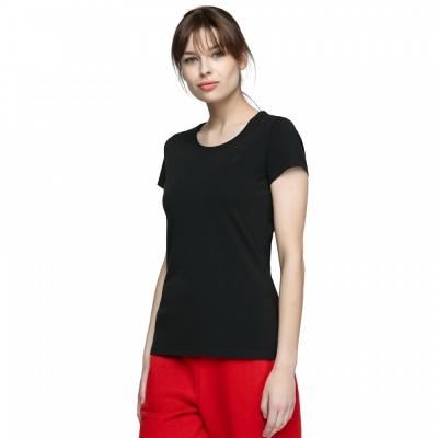 Tricou simplu negru 4F femei