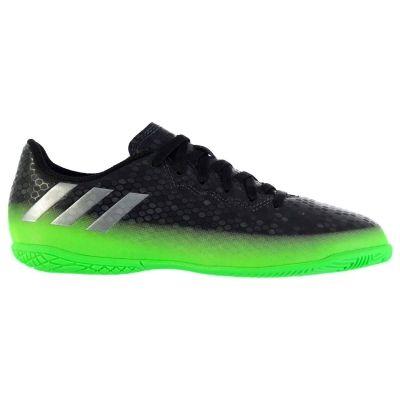 Adidasi sala adidas Messi 16.4 pentru copii negru verde