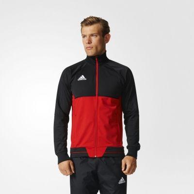 Bluza trening adidas Tiro 17 Training Jacket M Barbati rosu negru