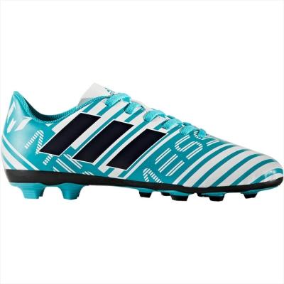 Ghete fotbal adidas Nemeziz Messi 17.4 FxG Junior S77201 baietei albastru alb
