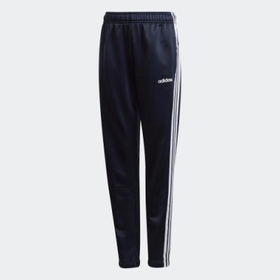 Pantaloni trening bleumarin adidas Essentials 3-Stripes copii
