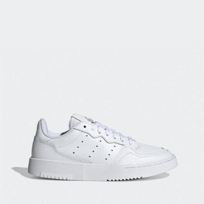 Pantofi sport albi piele adidas Originals Supercourt EE7726 copii