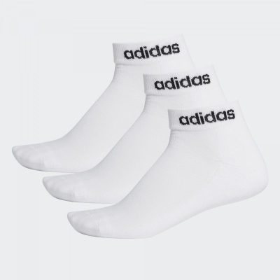 Set sosete albe adidas Performance unisex adulti