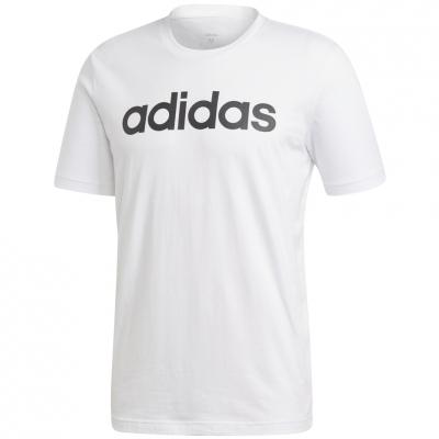 Tricou alb adidas Essentials Linear Logo barbati