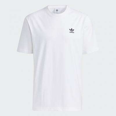 Tricou alb bumbac adidas Trefoil Boxy GE0825 barbati