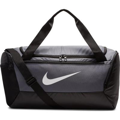Geanta sport gri Nike Brasilia Training Duffel Bag Small BA5957 026
