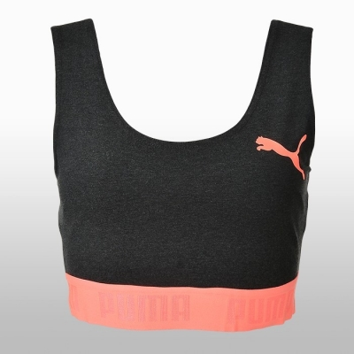 Bustiera sala gri Puma Active Essential femei portocaliu