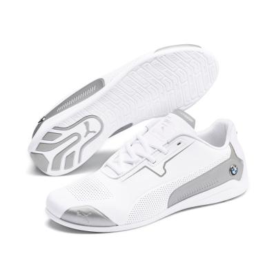 Pantofi sport albi Puma BMW MMS Drift Cat 8 barbati