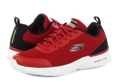 Adidasi sport Skechers Skech Air Dynamight rosu barbati