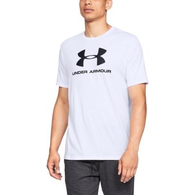 Tricou alb Under Armour Sportstyle Logo barbati