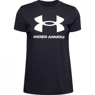 Tricou Under Armor Live Sportstyle Graphic UAR negru 1356305 001 femei