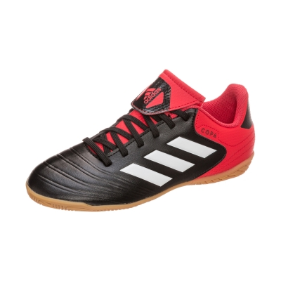 Adidasi fotbal sala adidas Copa Tango 18.4 IN Junior CP9066 baieti negru rosu
