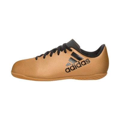 Ghete fotbal sala adidas X Tango 17.4 IN Junior CP9052 baieti bej metalic