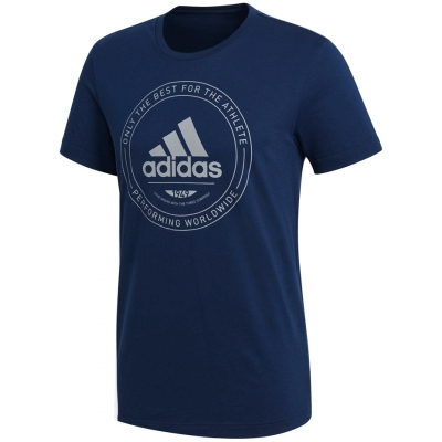 Adidas Adi Emblem gray navy jersey CV4517