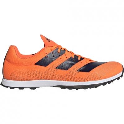 Pantof Adidas Adizero XC Sprint W 's orange F35763 dama